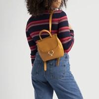 Women's Thea Mini Backpack in Cognac