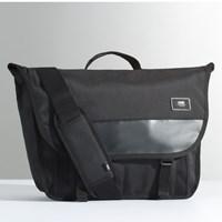 Block Shoulder Pack in Black