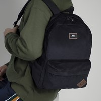 Old Skool II Black Corduroy Backpack