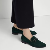 Women's Frances Loafer in Forest Green