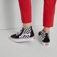 Women's SK8-Hi Platform 2.0 Sneakers in Checkerboard