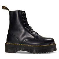 Women's Jadon Polished Smooth Boots in Black