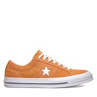 Baskets Vintage One Star orange pour hommes