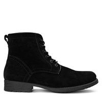 Men's Oliver Lace-Up Boots in Black