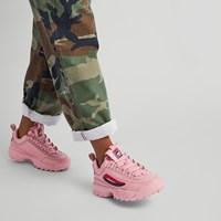 Women's Disruptor II Premium Sneakers in Pink