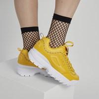 Baskets Disruptor II Premium jaunes pour femmes