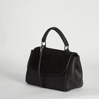 Women's Top Handle Crossbody Bag in Black