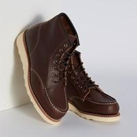 Women's 3371 6-Inch Classic Moc Boots in Dark Brown