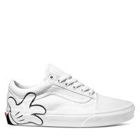 Baskets Old Skool Disney Mickey Mouse blanches pour femmes
