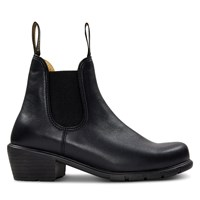 Women's 1671 Heeled Chelsea Boots in Black