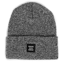 Abbott Beanie in Heather Black