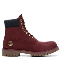 Men's 6 Inch Premium Waterproof Bordeaux Boot