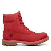 Women's 6 Inch Premium Waterproof Red Boot