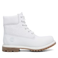 Women's 6 Inch Premium Waterproof White Boot