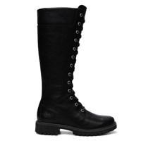 Women's Earthkeeper Premium Zip Black Boot